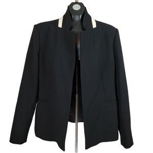 ELLEN TRACY Open Blazer Jacket Black